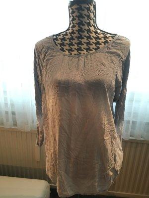 MADE in ITALY T-Shirt weiche Qualität mit Batikmuster, OneSize, wie NEU