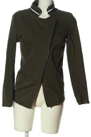 Made in Italy Kurtka przejściowa khaki W stylu casual