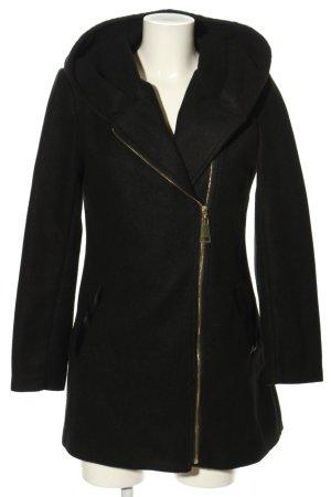 Made in Italy Abrigo de entretiempo negro look casual