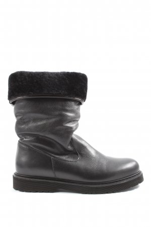 Made in Italy Winter-Stiefeletten schwarz Casual-Look