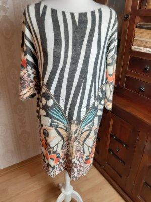 Made in Italy Wollkleid/ Tunikakleid Allover-Druck Casual-Look