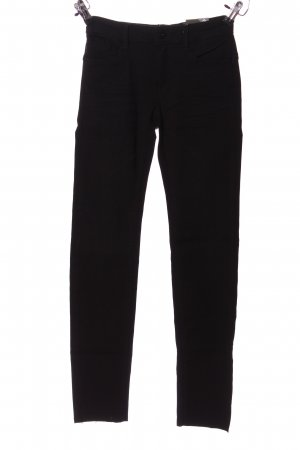 Made with love Stretchhose schwarz Casual-Look
