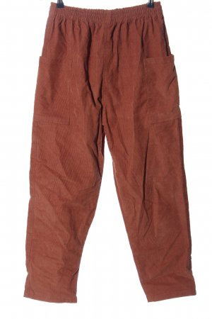 MADEKIND Corduroy Trousers brown casual look