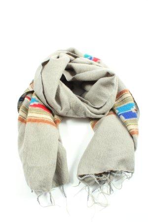 MADEKIND Sjaal met franjes gestreept patroon casual uitstraling