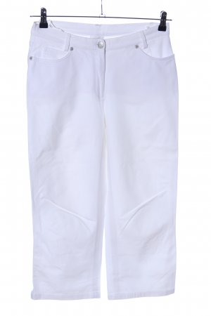 Madeleine 3/4 Length Trousers white casual look