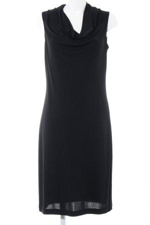 Madeleine A-Linien Kleid schwarz Business-Look