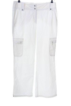 Madeleine Baggy broek wit casual uitstraling