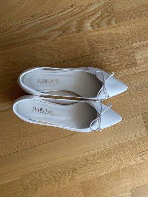 Madeleine-Ballerinas, weiß, 37, NEU