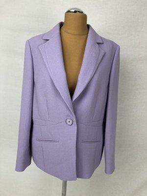 Madeleine Wool Blazer purple wool