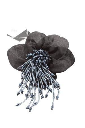 Madeleine Brosche schwarz-blau Elegant