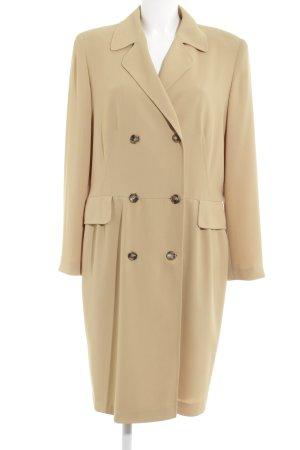 Madeleine Heavy Pea Coat beige business style