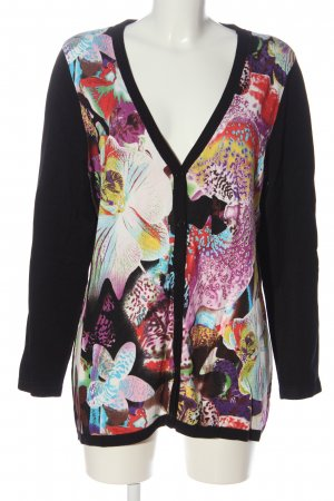 Madeleine Cardigan abstraktes Muster Casual-Look