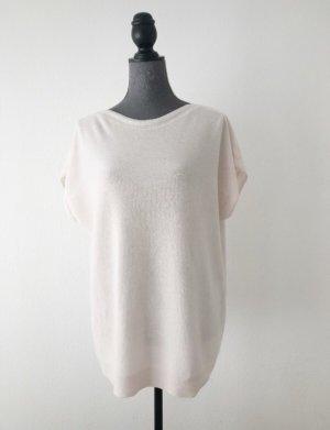 Madeleine Short Sleeved Blouse pink-cream cashmere