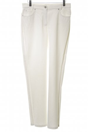 Madeleine Five-Pocket Trousers white elegant