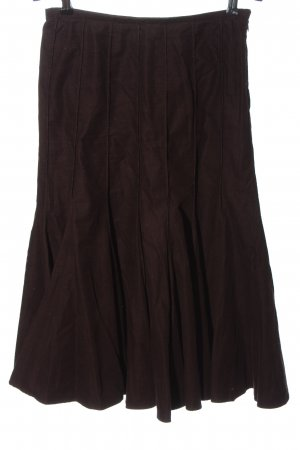 Madeleine Flared Skirt brown casual look