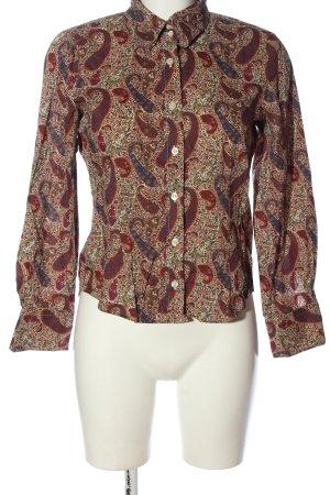 Madeleine Hemd-Bluse abstraktes Muster Business-Look