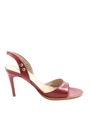 Madeleine High Heel Sandaletten rot Casual-Look