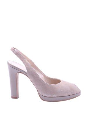 Madeleine High Heel Sandaletten wollweiß Casual-Look