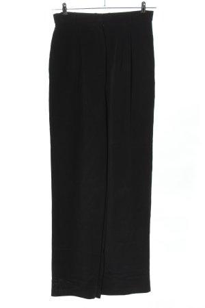 Madeleine Hoge taille broek zwart zakelijke stijl