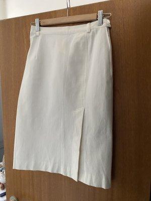 Madeleine Rok met hoge taille wit