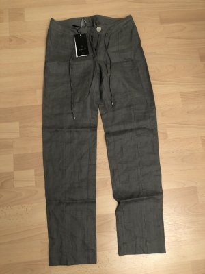 Madeleine Pantalone di lino grigio