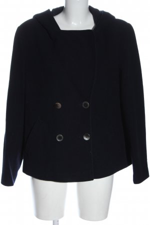 Madeleine Hooded Coat black casual look