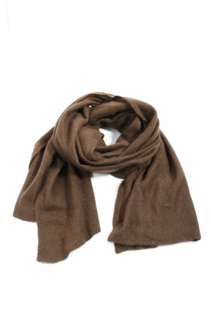 Madeleine Cashmere Scarf brown casual look