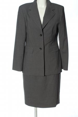 Madeleine Ladies' Suit light grey flecked business style
