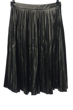 Madeleine Rok van imitatieleder zwart casual uitstraling