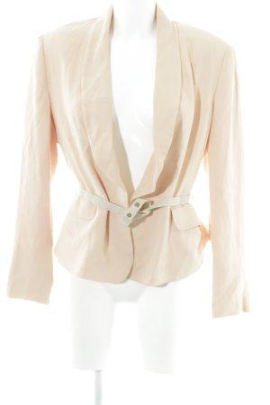 Madeleine Kurz-Blazer apricot Business-Look