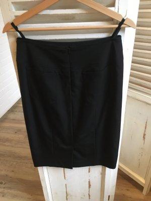 Madeleine kurzer Rock schwarz Gr 36 mit Schurwolle