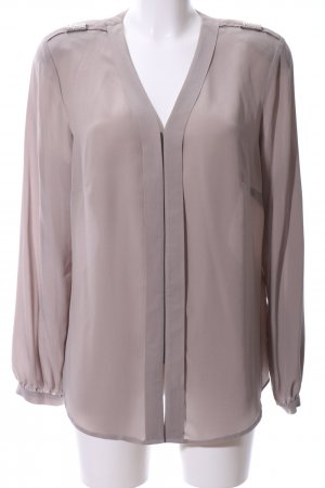 Madeleine Langarm-Bluse taupe Casual-Look