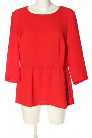 Madeleine Langarm-Bluse rot Casual-Look