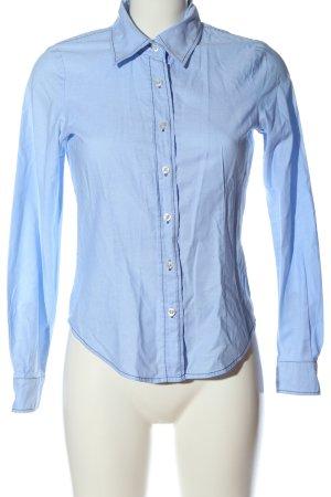 Madeleine Langarmhemd blau Casual-Look