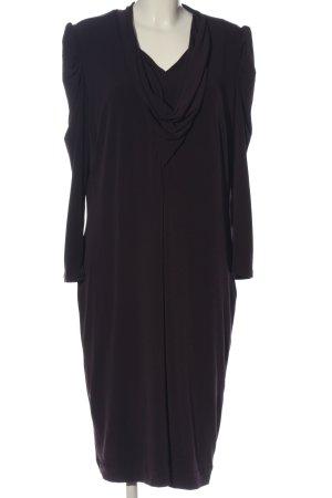 Madeleine Langarmkleid schwarz klassischer Stil