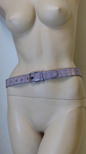 Madeleine Cinturón de cuero malva-púrpura