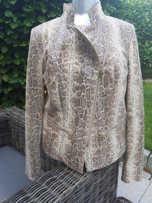 Madeleine Leather Jacket multicolored