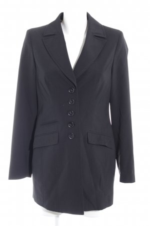 Madeleine Long-Blazer schwarz Business-Look