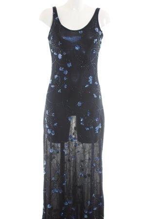 Madeleine Maxikleid blau Elegant
