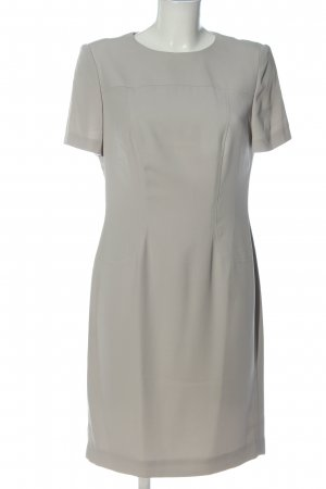 Madeleine Midi Dress light grey casual look
