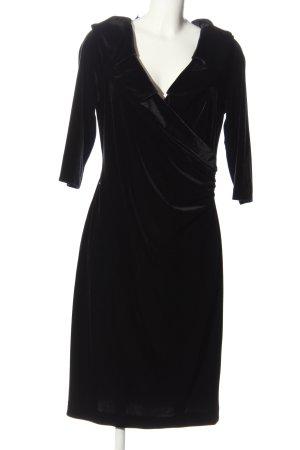 Madeleine Midikleid schwarz Elegant