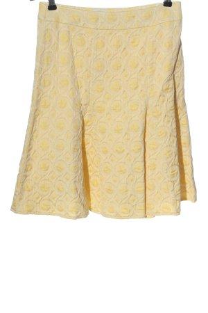 Madeleine Spódnica midi bladożółty-kremowy W stylu casual