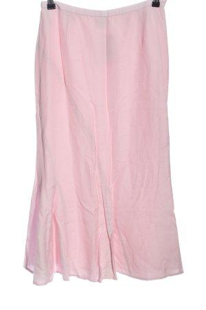 Madeleine Spódnica midi różowy W stylu casual
