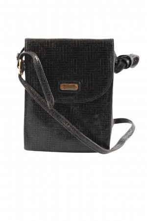 Madeleine Mini sac noir style décontracté
