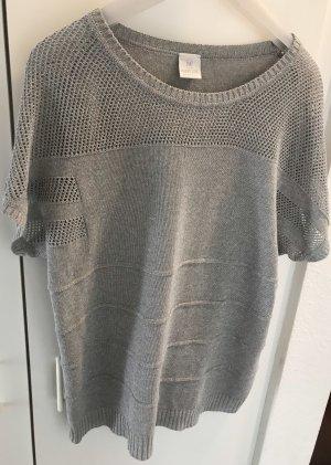 Madeleine Oversized shirt grijs-zilver