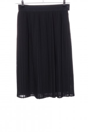 Madeleine Pleated Skirt black business style