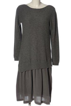 Madeleine Swetrowa sukienka jasnoszary Melanżowy W stylu casual