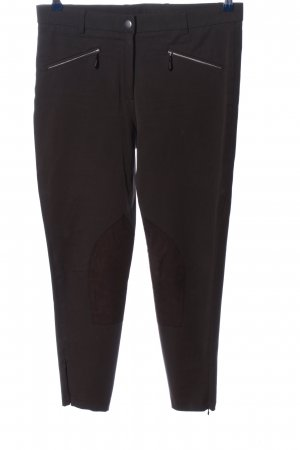 Madeleine Riding Trousers black casual look