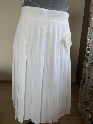 Madeleine Pleated Skirt white
