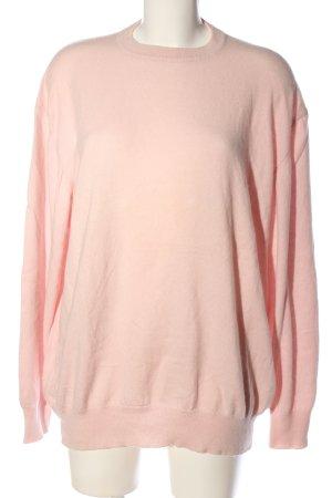 Madeleine Rundhalspullover pink Casual-Look